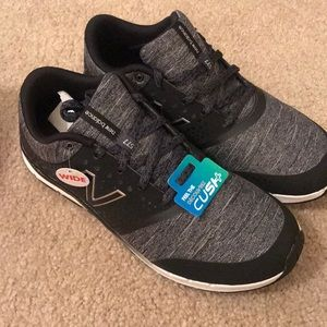 Grey and Black 8.5 Wide New Balance Cross Trainers